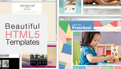 Découvrez nos nouveaux modèles HTML5