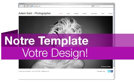 Notre Template, Votre Design!
