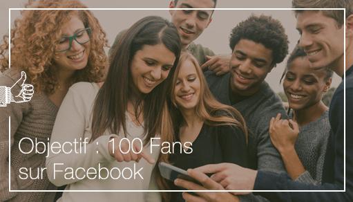 Objectif: 1000 fans pour votre page Facebook