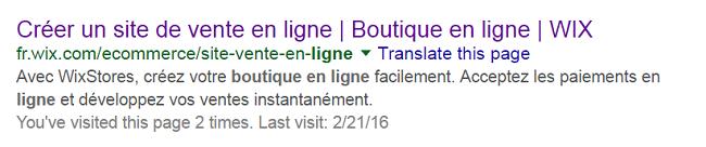 créer une boutique en ligne Google Search