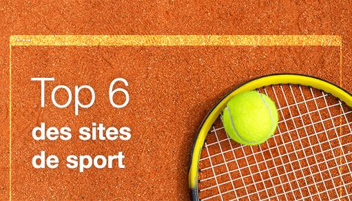 Top 6 des meilleurs sites de sport