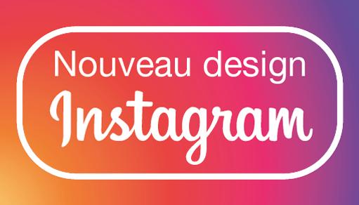 Nouveau logo nouveau design Instagram