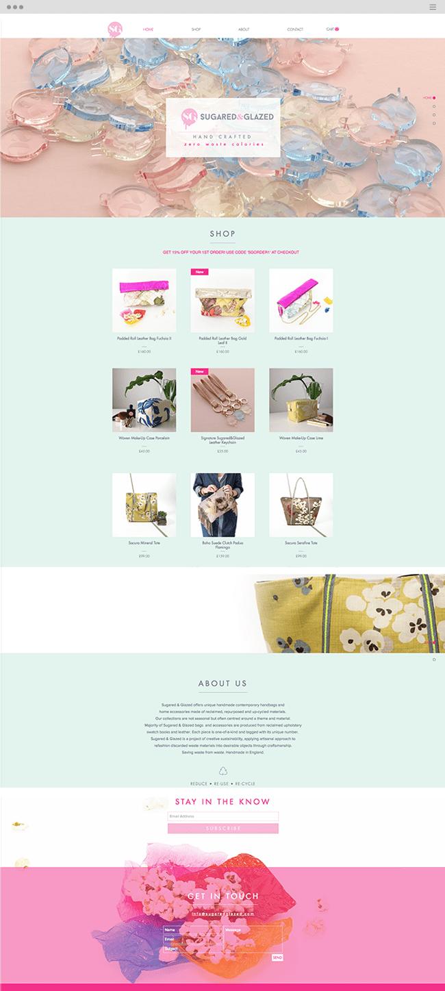 beau site wix ecommerce