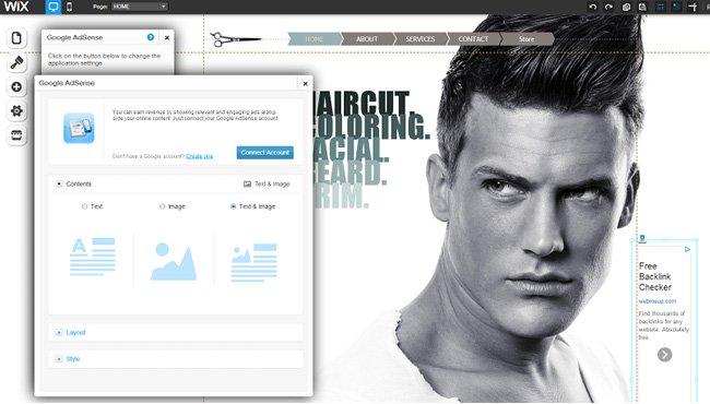 Capture d'écran du App Market - application Google AdSense