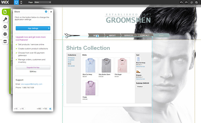 Capture d'écran du App Market - application Shopify