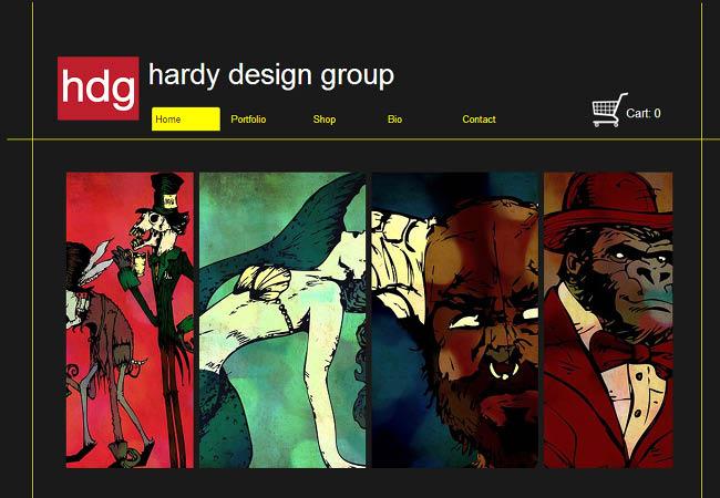 Site de Hardy Design Group
