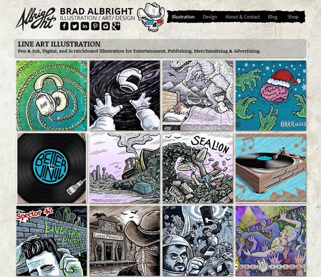 Site de Brad Albright