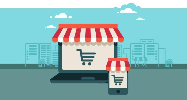 Icône de boutique en ligne