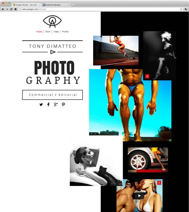 Template Wix : Photographer Website